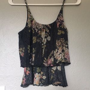 Wet Seal floral lace top